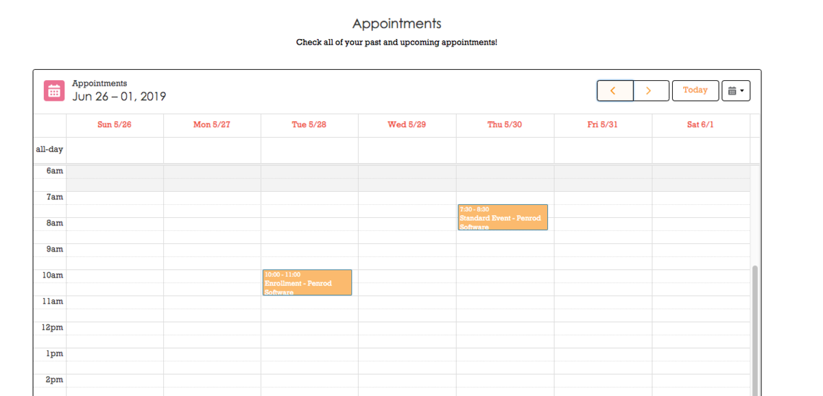 Salesforce Health Cloud Appointment Screenshot